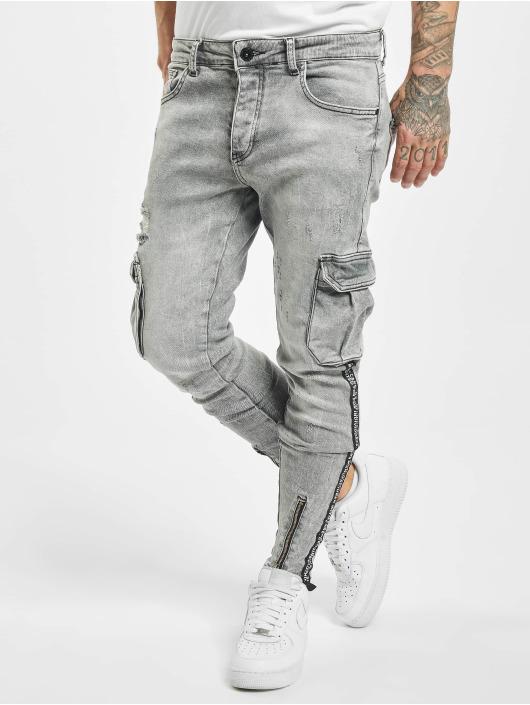 VSCT Clubwear Reisitaskuhousut Keanu Legbtmzip harmaa