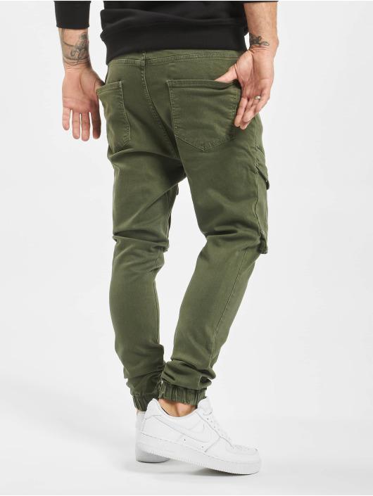 VSCT Clubwear Reisitaskuhousut Noah Cargo khakiruskea