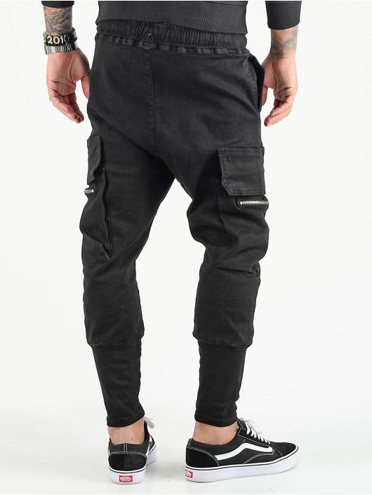 VSCT Clubwear Reisitaskuhousut Logan musta