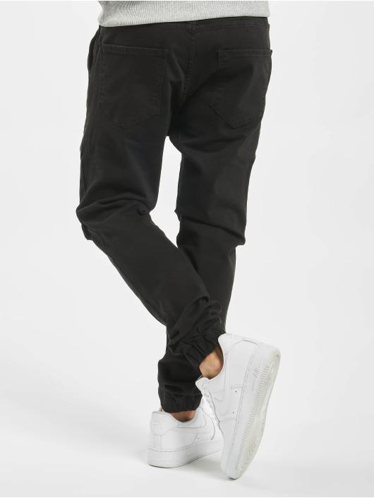 VSCT Clubwear Reisitaskuhousut Noah Cargo Cuffed musta