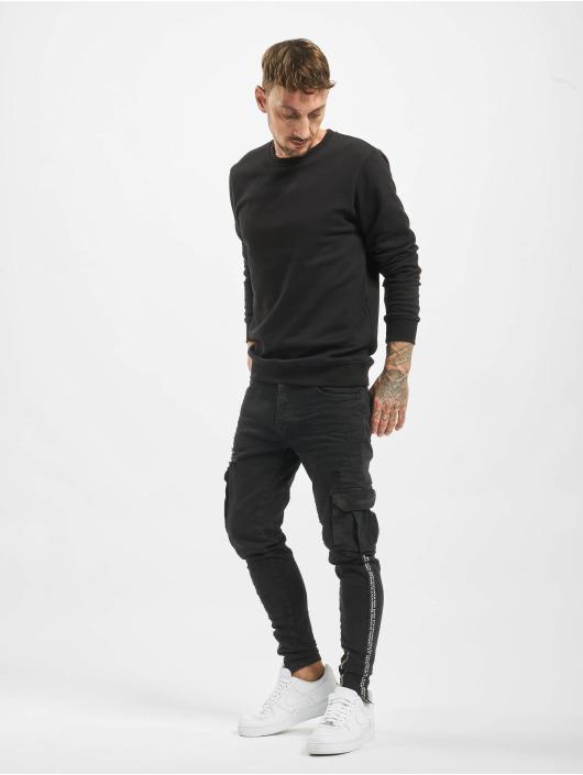 VSCT Clubwear Reisitaskuhousut Keanu Cargo musta