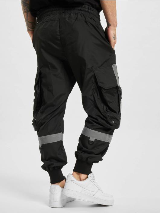 VSCT Clubwear Reisitaskuhousut Jupiter Cargo musta