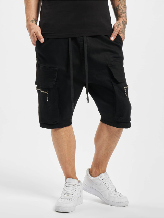 VSCT Clubwear Short Logan Denim Bermuda black