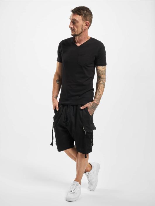 VSCT Clubwear Short Noah Flap black