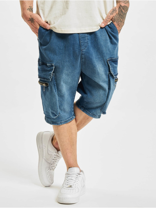 VSCT Clubwear Short Logan Denim bleu