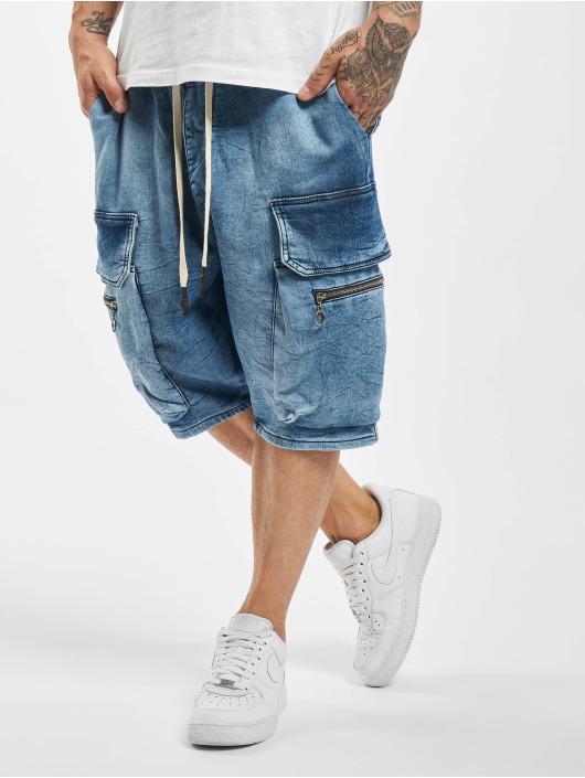 VSCT Clubwear Shorts Logan Cargo blau