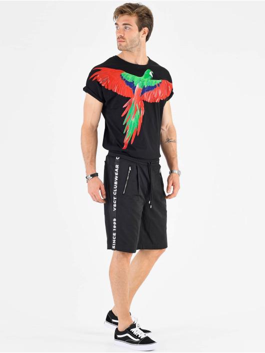 VSCT Clubwear Shorts Luxury Logo Tape schwarz