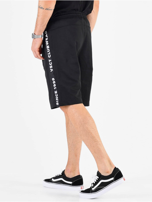 VSCT Clubwear shorts Luxury Logo Tape zwart