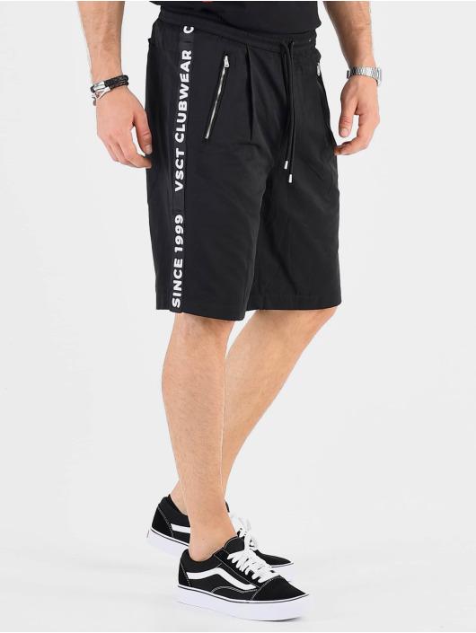 VSCT Clubwear shorts Luxury Logo Tape zwart