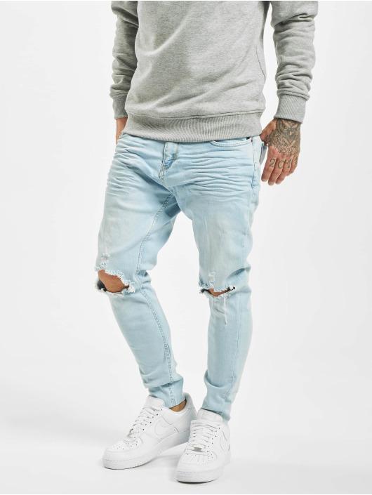 VSCT Clubwear Skinny jeans Knox Knee Cut blå