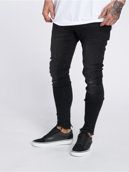 VSCT Clubwear Skinny Jeans Thor czarny