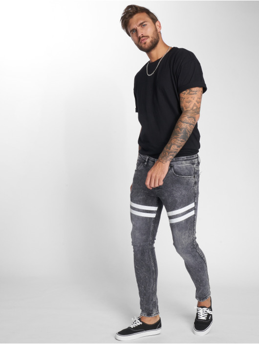 VSCT Clubwear Skinny Jeans Nick Athletic Musclefit grey