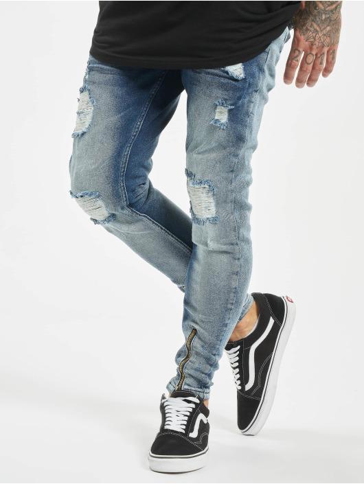 VSCT Clubwear Skinny Jeans Keanu modrý