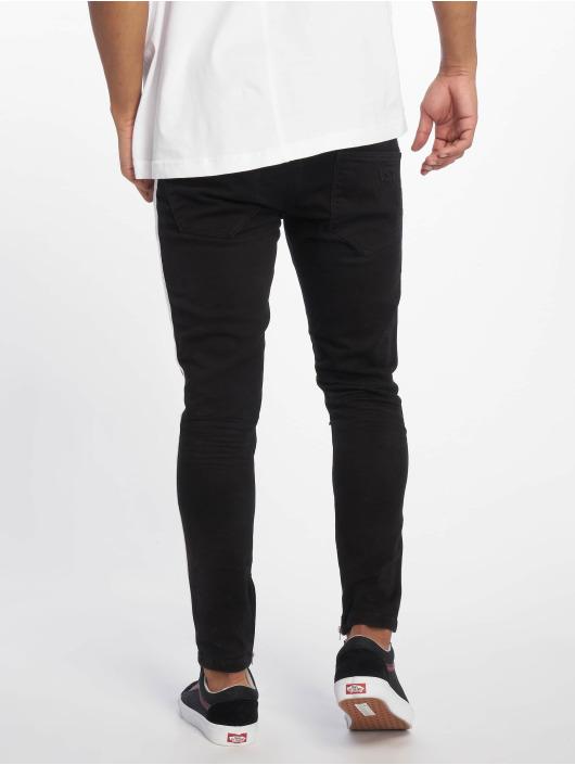 VSCT Clubwear Skinny Jeans Knox Stripe schwarz