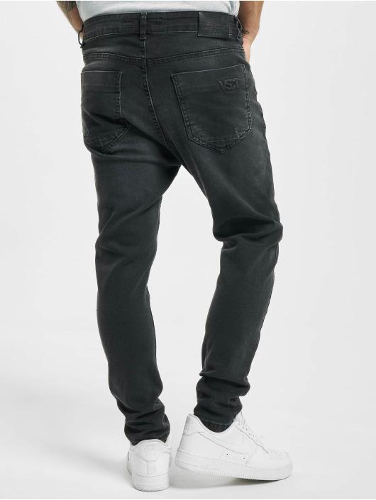 VSCT Clubwear Skinny Jeans Keanu Lowcrotch schwarz