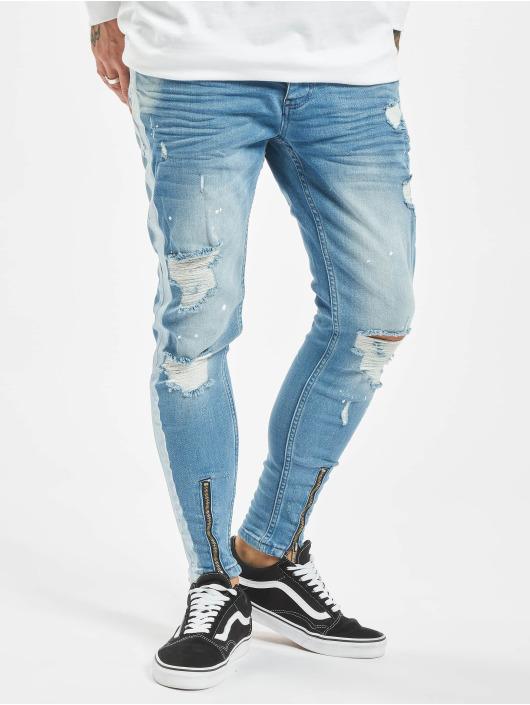 VSCT Clubwear Slim Fit -farkut Thor Stripe Track Denim sininen