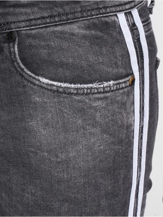 VSCT Clubwear Slim Fit Jeans Knox Slim Track šedá