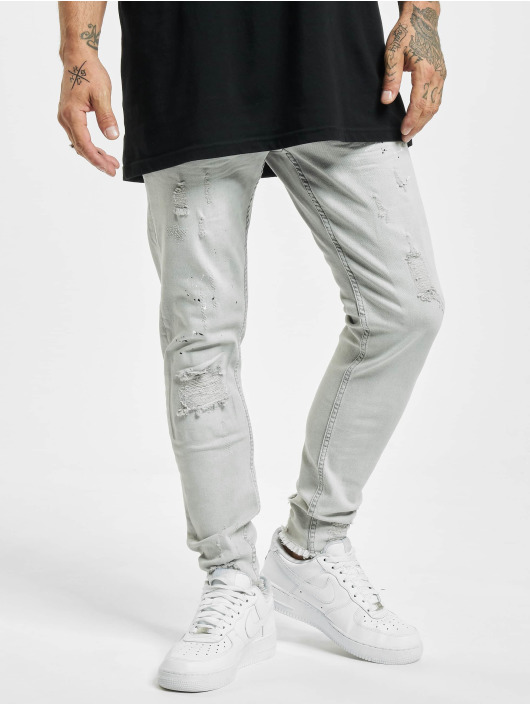 VSCT Clubwear Slim Fit Jeans Thor šedá