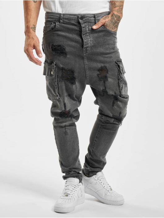 VSCT Clubwear Slim Fit Jeans Clubwear šedá