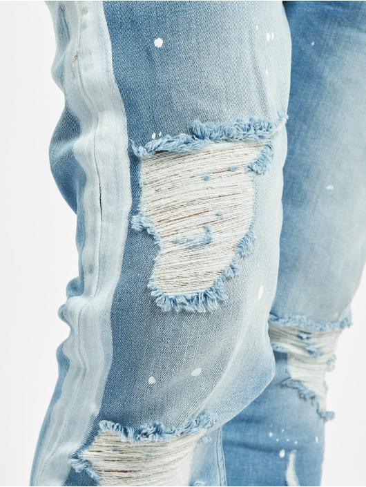 VSCT Clubwear Slim Fit Jeans Thor Stripe Track Denim синий