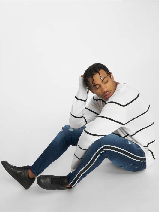 VSCT Clubwear Slim Fit Jeans Thor Stripe blå