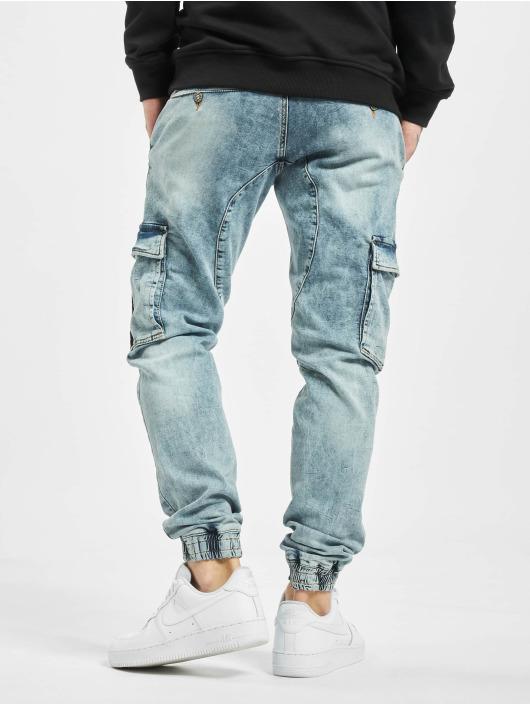 VSCT Clubwear Slim Fit Jeans Noah Snowwash blå