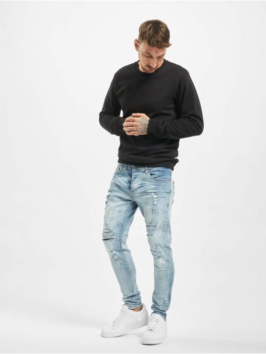 VSCT Clubwear Slim Fit Jeans Thor Superused blå