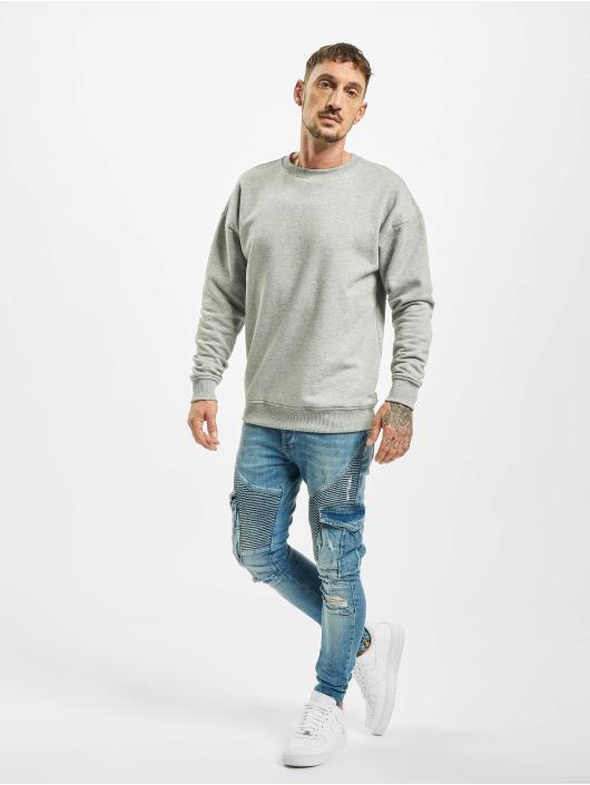 VSCT Clubwear Slim Fit Jeans Keanu Denim Biker blau