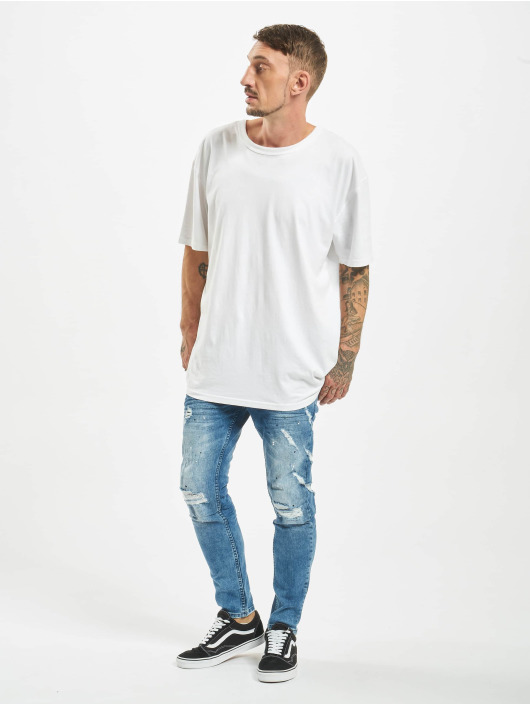VSCT Clubwear Slim Fit Jeans Knox blau
