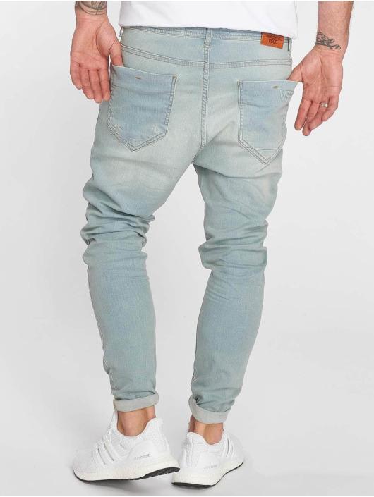 VSCT Clubwear Slim Fit Jeans Keanu Lowcrotch blauw