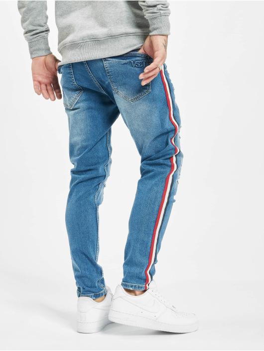 VSCT Clubwear Slim Fit Jeans Keanu Multi Colour Stripe blue