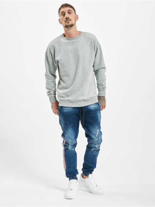 VSCT Clubwear Slim Fit Jeans Noah Slim Racer Tape modrá