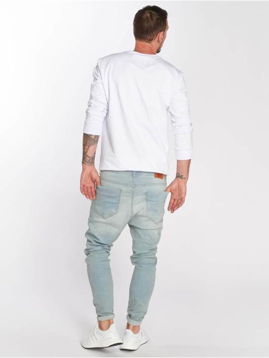 VSCT Clubwear Slim Fit Jeans Keanu Lowcrotch modrá