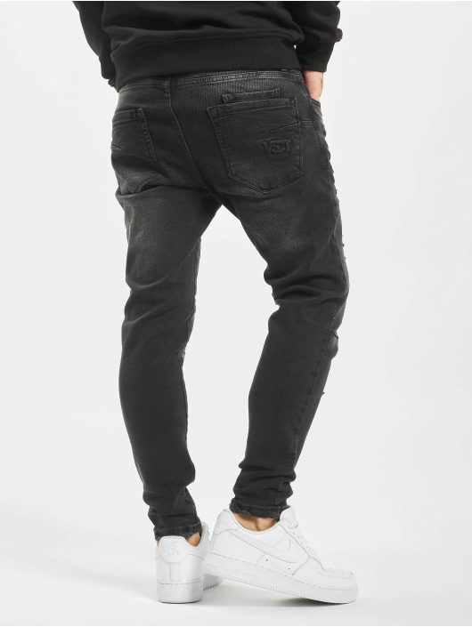 VSCT Clubwear Slim Fit Jeans New Keanu-Spencer Hybrid nero