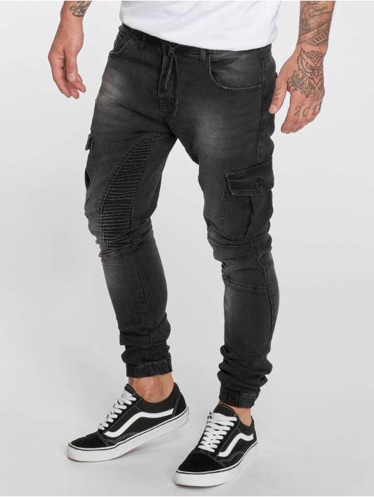 VSCT Clubwear Slim Fit Jeans Noah Cargo Expedited svart