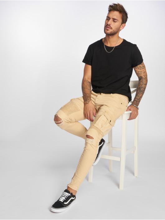 VSCT Clubwear Spodnie Chino/Cargo Keanu bezowy