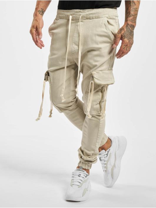 VSCT Clubwear Spodnie Chino/Cargo Noah Denim Cargo Cuffed bezowy
