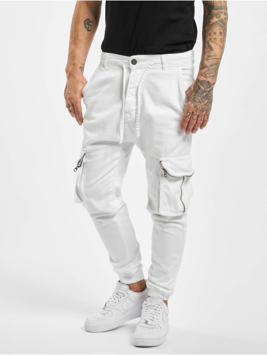 VSCT Clubwear Spodnie Chino/Cargo Noah bialy