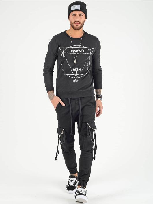 VSCT Clubwear Spodnie Chino/Cargo Noah czarny