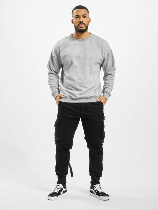VSCT Clubwear Spodnie Chino/Cargo Shogun Multipocket czarny