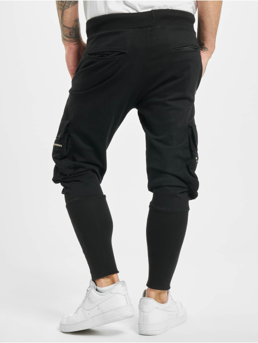 VSCT Clubwear Spodnie Chino/Cargo Future 2nd Gen czarny