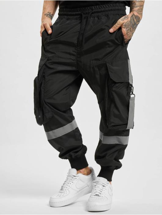 VSCT Clubwear Spodnie Chino/Cargo Jupiter Cargo czarny