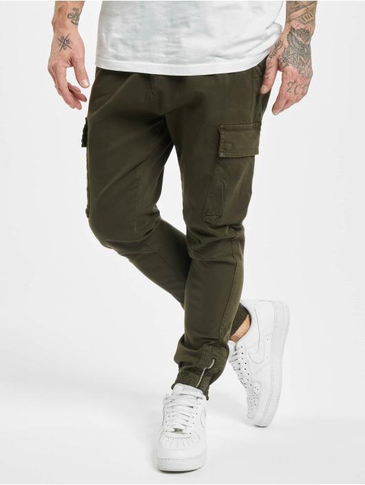 VSCT Clubwear Spodnie Chino/Cargo Norton Baggy Gargo khaki