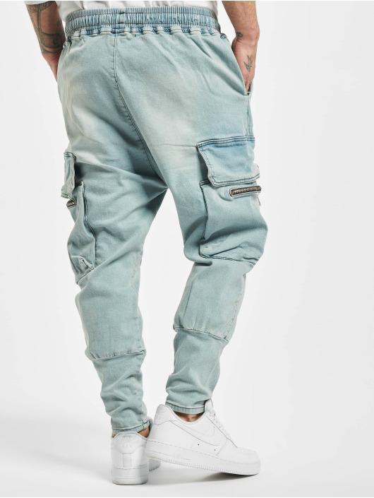 VSCT Clubwear Spodnie Chino/Cargo Logan Antifit niebieski