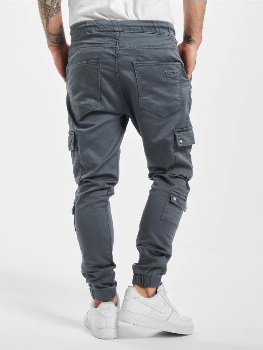 VSCT Clubwear Spodnie Chino/Cargo Nexus Straight Cuffed szary