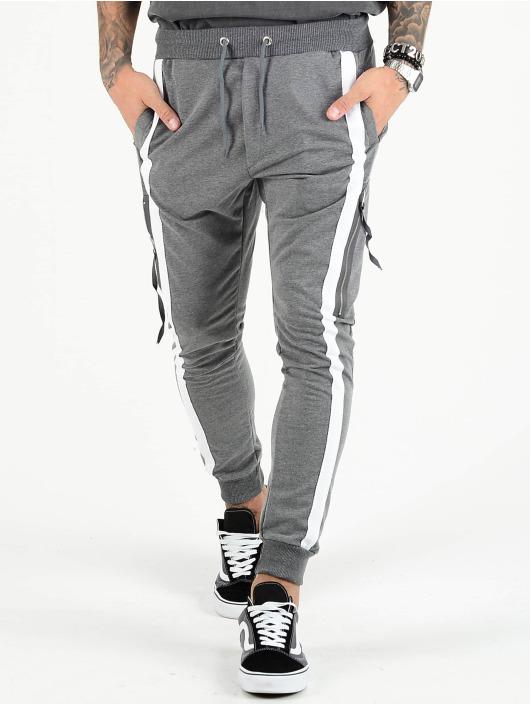 VSCT Clubwear Spodnie Chino/Cargo 4-Stripe PKT szary