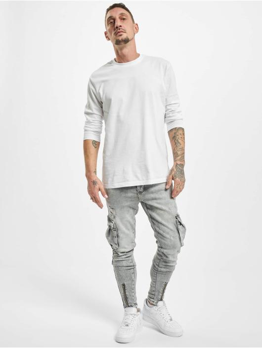 VSCT Clubwear Spodnie Chino/Cargo Keanu Legbtmzip szary