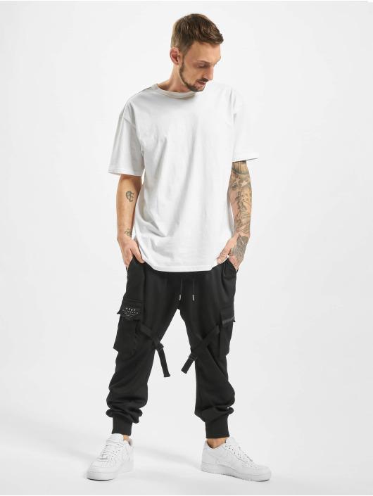 VSCT Clubwear Spodnie do joggingu Combat Antifit Nylon czarny
