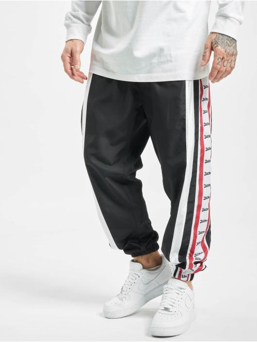VSCT Clubwear Spodnie do joggingu MC Nylon Striped czarny