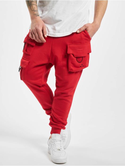 VSCT Clubwear Spodnie do joggingu New Gen Cargo czerwony